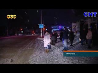 Новости (ТСВ-СНТ, 11.01.2017) Как в Тирасполе убирают с дорог