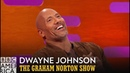 Dwayne The Rock Johnson Flawlessly Performs His Moana Rap The Graham Norton Show