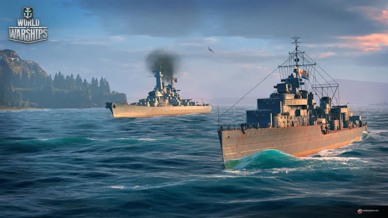 World of Warships американские линкоры 5