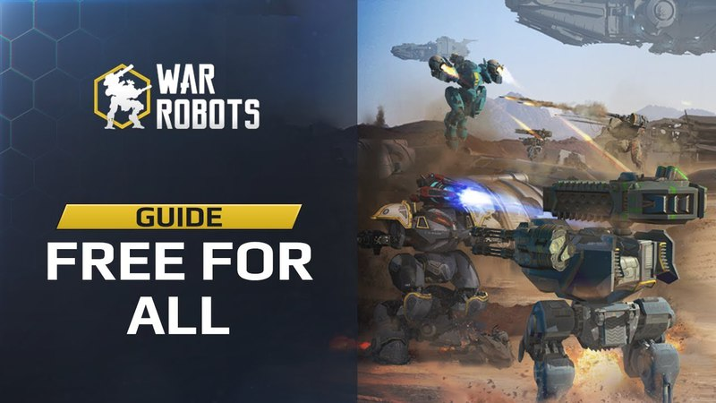 NEXT in WAR ROBOTS 🔥 - FFA new game mode