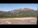 Черногория 2013. Взлёт на Боинг 737 Белавиа из аэропорта г. Тиват