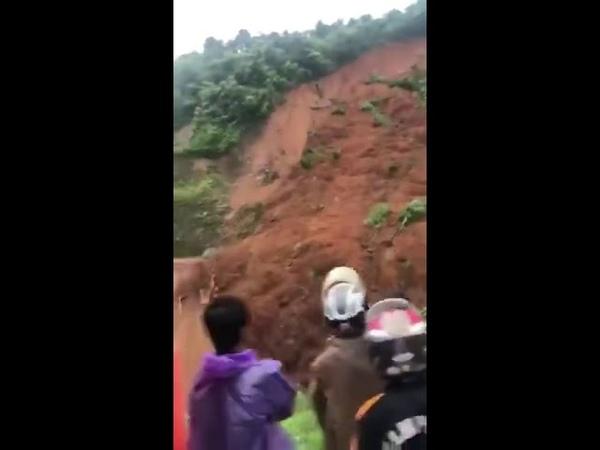 Lai Châu chiều 26/06/2018: Khai thông tuyến quốc lộ trong mùa mưa lũ quá nguy hiểm, may mà...