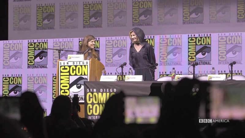 The Doctor's Debut San Diego Comic Con BBC America