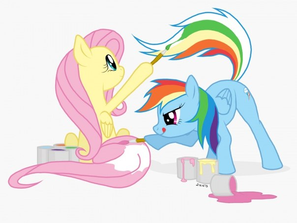 Как рисовать пони на компьютере