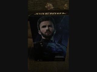 Стрим Hot Toys Infinity War Captain America