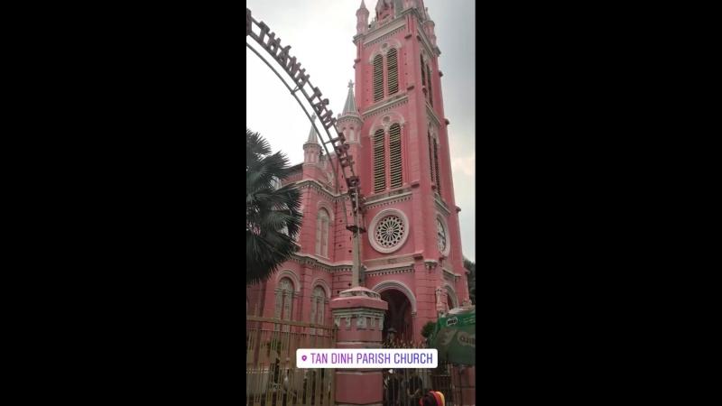 Tan Dinh parish church