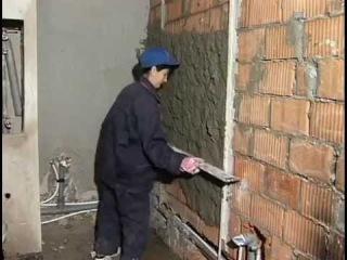 Штукатурные работы. Штукатурка стен своими руками