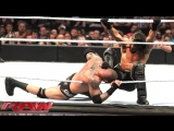 Roman Reigns and Randy Orton vs Seth Rollins and Kane (WWE RAW 27.04.15). Part 1