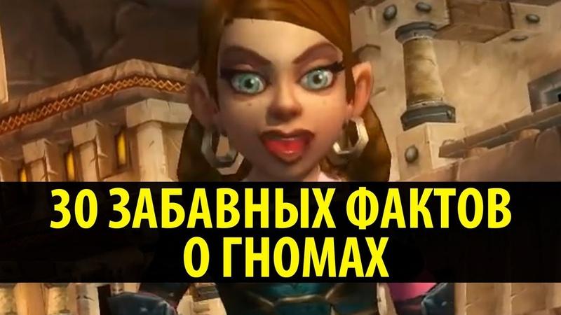 30 Забавных Фактов о Гномах в World of Warcraft!