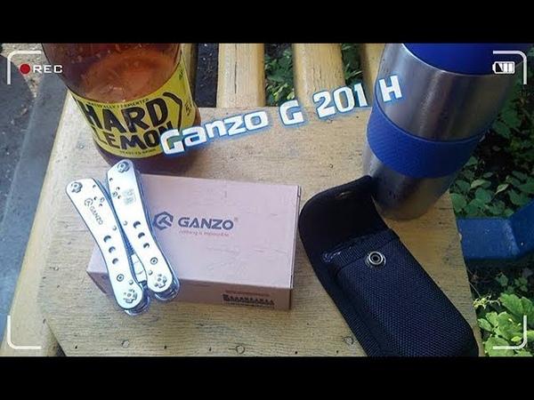 Распаковка мультитула Ganzo G201-H приобретенного на Розетке