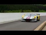 Marc VDS Ford GT GT1 LOUD V8 Noise at Spa-Francorchamps!!