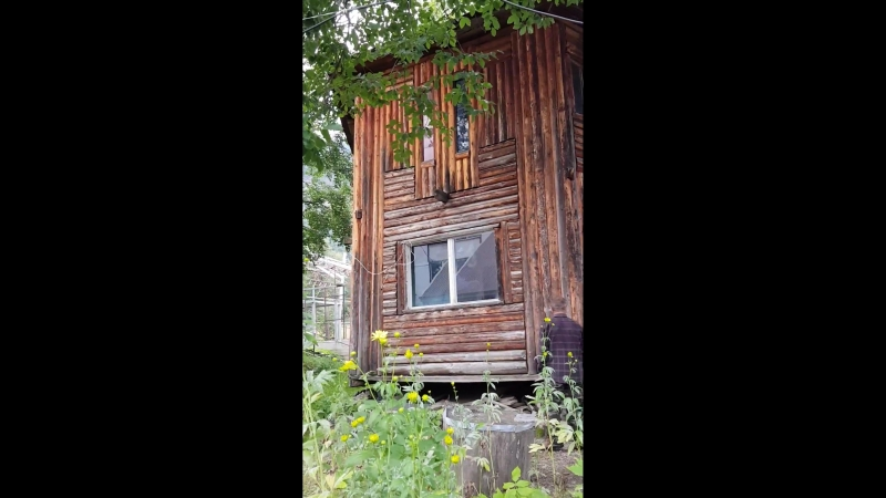 Крутящийся дом в Архызе