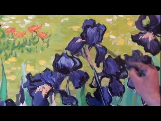 Как это делал Ван Гог. Мастер-класс художника Сахарова Игоря