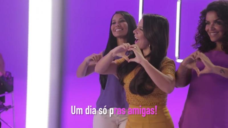Tá com BrilhoTon, tá favorável-Bastidores do clipe com Fernanda Souza, Ju de Paulla e Thaynara OG