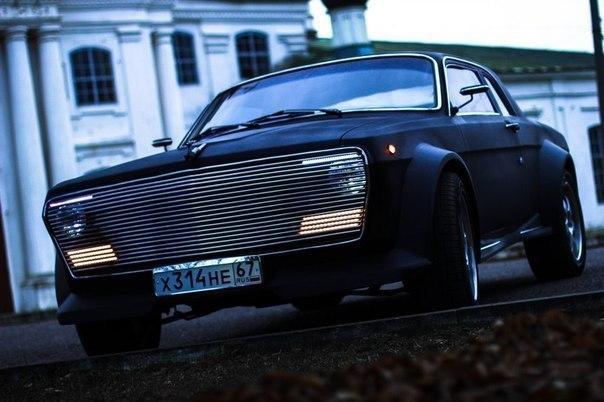 Волга с 3.5 мотором от BMW 7