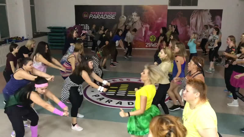 Баттл на Zumba Party Надежда Смагулова