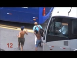 kids stealing on the streets of Rio de Janeiro, Brazil, Brasil, Olympic Games city