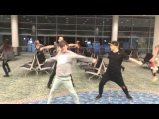 Что случается, если у танцоров задержали рейс
