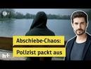 Abschiebe-Chaos: Polizisten kotzen, Flüchtlingshelfer schimpfen - wer ist schuld? - heute   ZDF