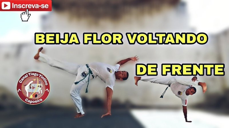 Tutorial Beija flor voltando de frente / Capoeira