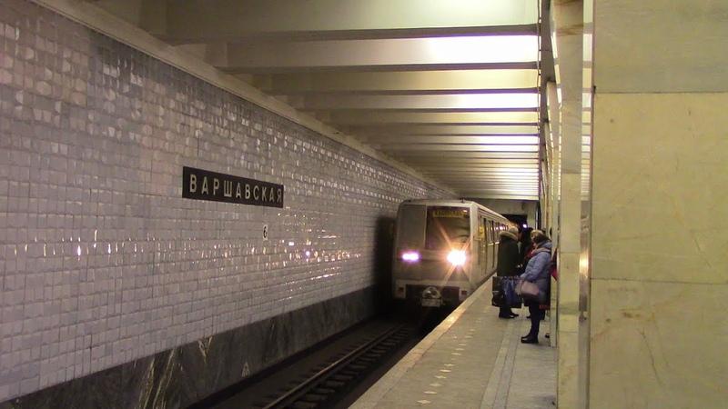 Метропоезд 81-720\721Яуза маршрут №85