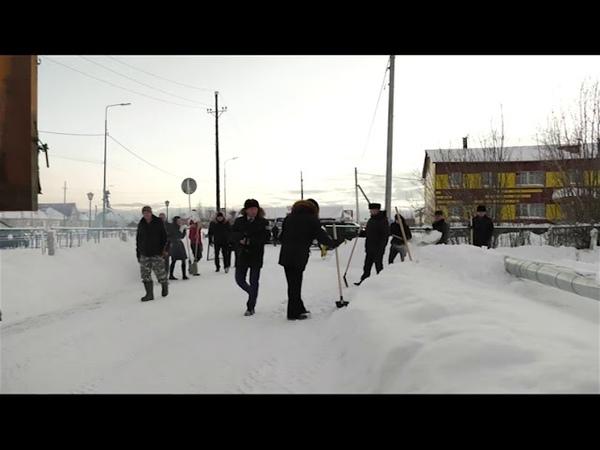 Городская среда -делай добрые дела! (зимний период)