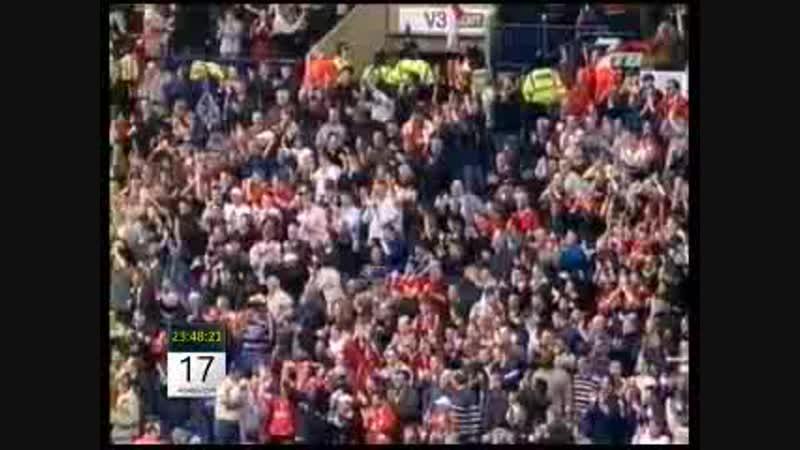 Чемпионат Англии 2002-03 Вест Бромвич 0-1 Ливерпуль