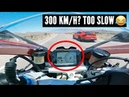 Are SUPERCARS faster than SUPERBIKES Battle at 300 Km H Cars vs Motorcycles pt 1