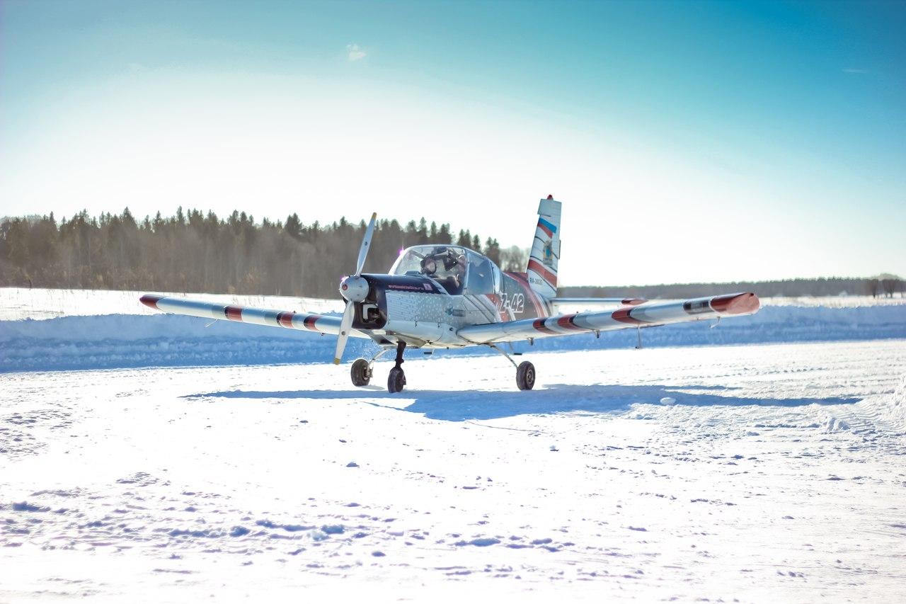 Полет на самолете Zlin42