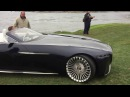 Vision Mercedes-Maybach 6 Cabriolet on lawn at Pebble Beach Concours d'Elegance