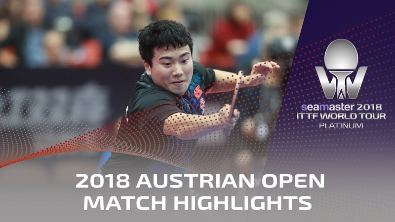 Wong Chun Ting vs Liang Jingkun | 2018 ITTF Austrian Open Highlights (R32)