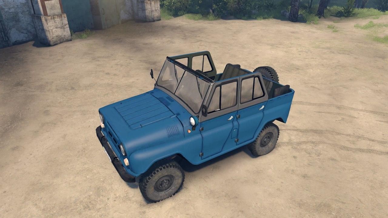 УАЗ 31512 для Spintires - Скриншот 1