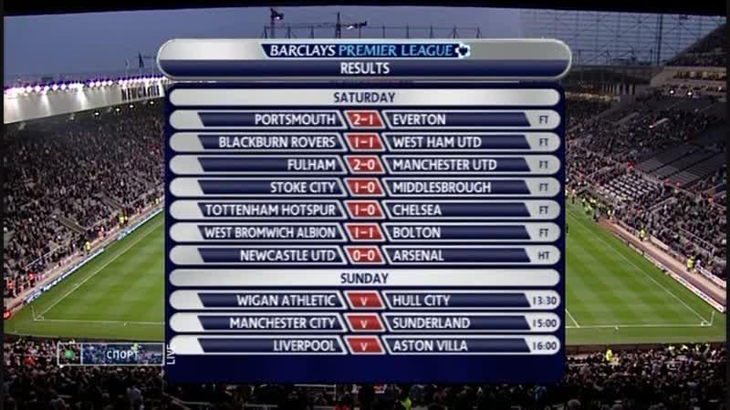 2009_Newcastle-Arsenal_2 тайм