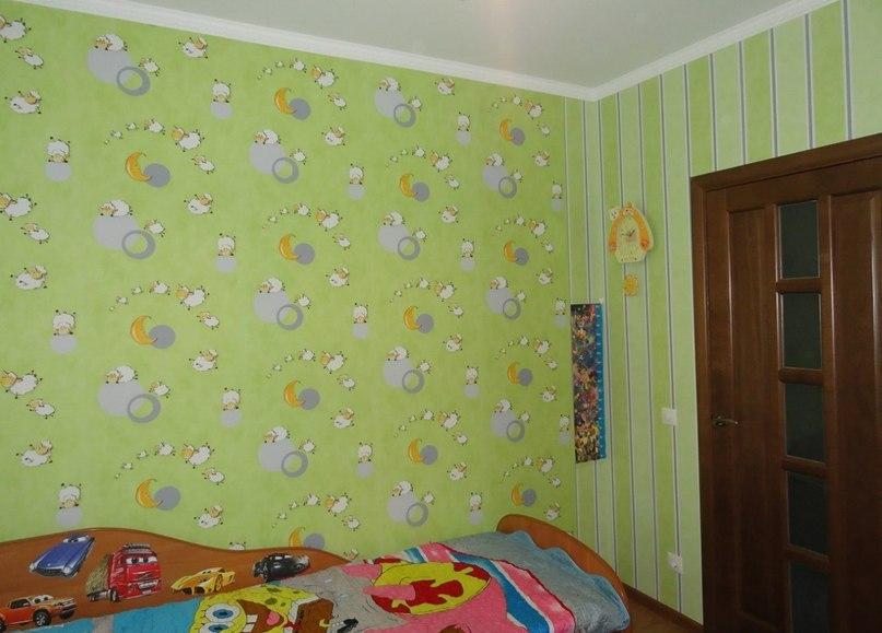 Обои для детской комнаты фото