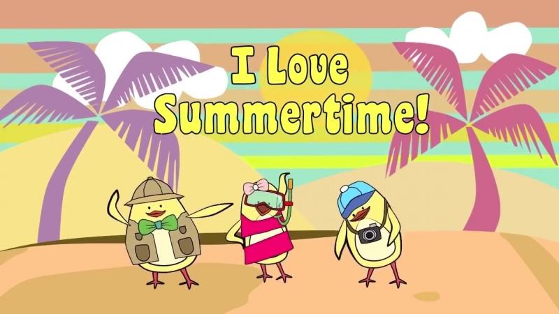 Summer Songs for Kids - I Love Summertime - The Singing Walrus