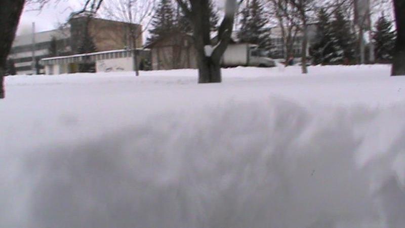 Очень много снега в городе Орле, я в снегу, город Орёл, снег в марте 2018 года, видео 22.03.2018 года