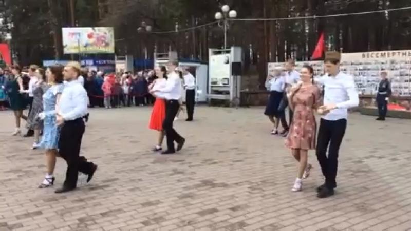 Всероссийский Флешмоб Лизавета посвящ 9 мая 2018г