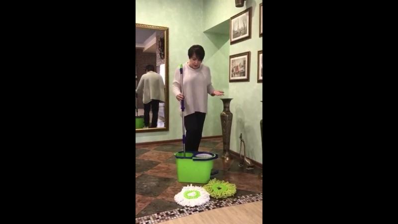 Швабра -Турбо замена пылесоса