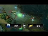 Team fight by Na'Vi vs Team Liquid @ MLG Columbus 2013