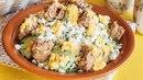 Белковый салат с тунцом и творогом для ПП-ужина