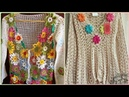 Beautiful different style of crochet top and shirts pattern for women