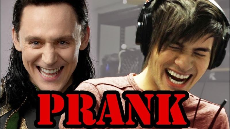 Loki Interview PRANK