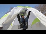 КРАШ-тест палатки ЛОТОС 5