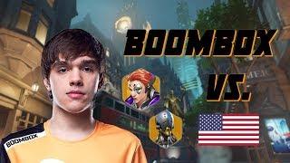 Boombox plays Moira and Zenyatta vs. USA [Overwatch World Cup 2018]