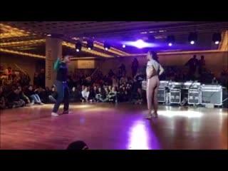 Liza zak vs неизвестно/3 круг/everybody dancehall on danzainfiera (italiy 2019)