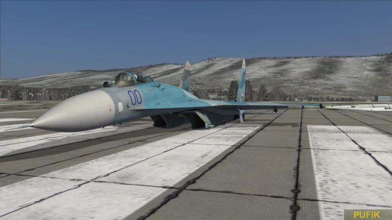 DCS World Су-27 АФМ-ПФМ или