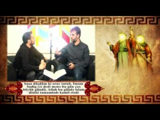 Гадир Хум – Интервью с Назимом Зейналовым для спутникового телеканала «Аз-Захра»