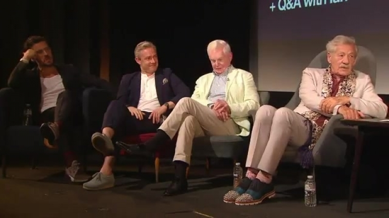 McKellen Playing the Part is screening tonight. Heres an exclusive clip from a panel hosted by Graham Norton with @IanMcKellen,