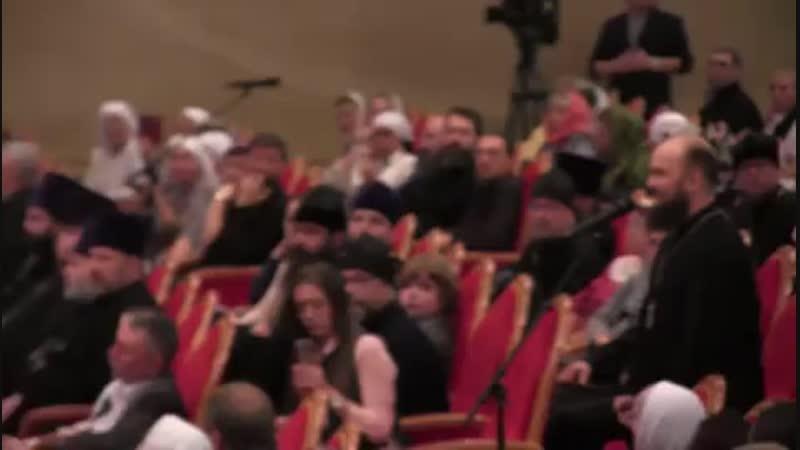 Закрытие VII общецерковного съезда по социальному служению.