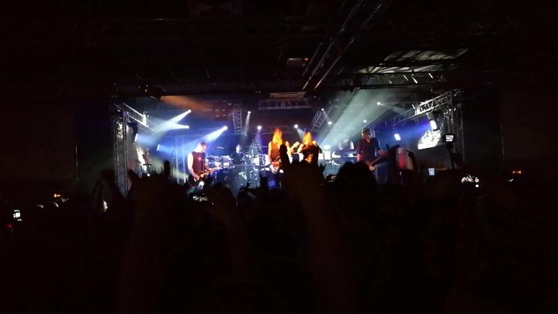 Amorphis - Into Hiding @ Zal, Saint-Petersburg, 13.5.2017